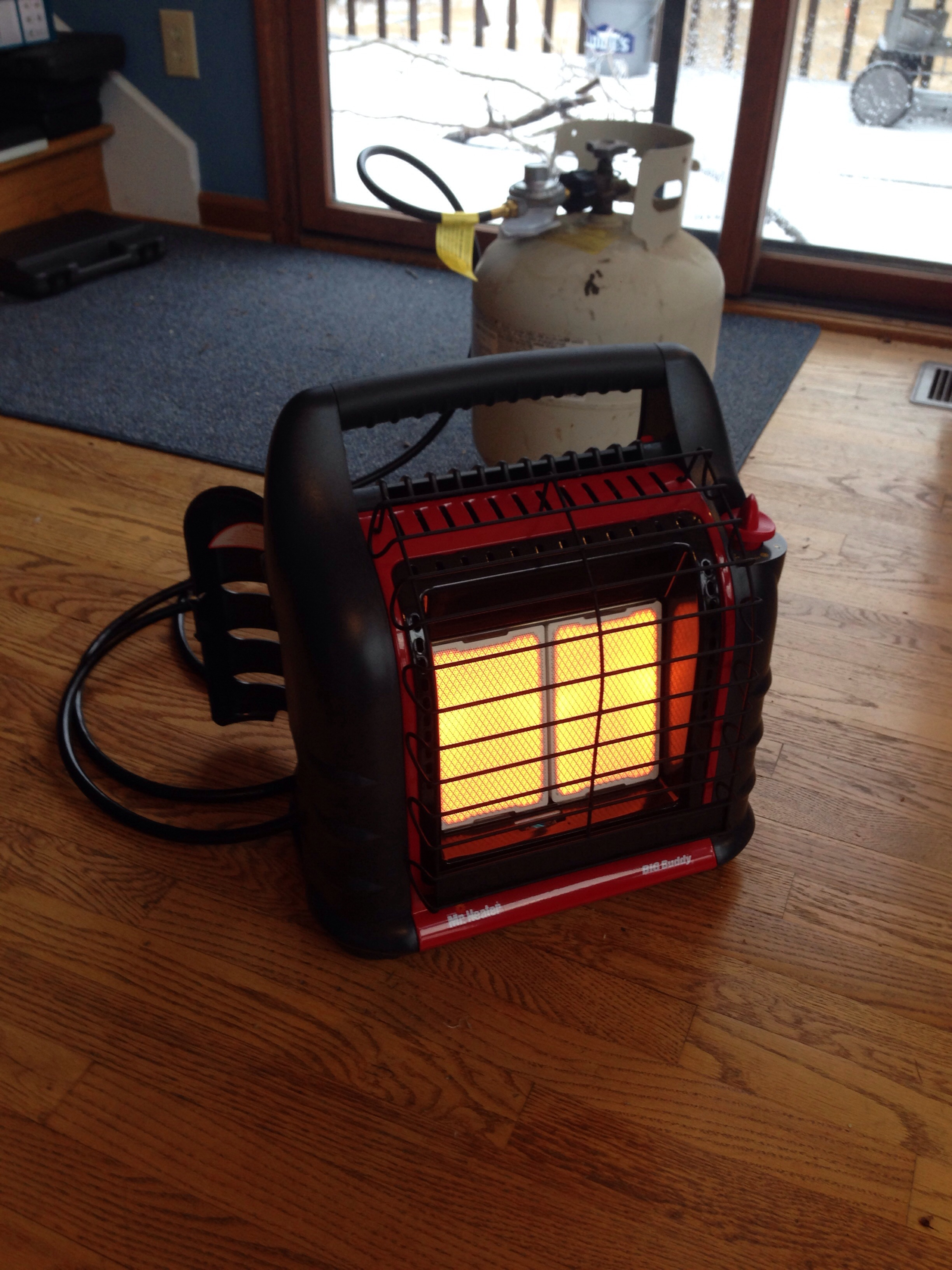My Propane Heater