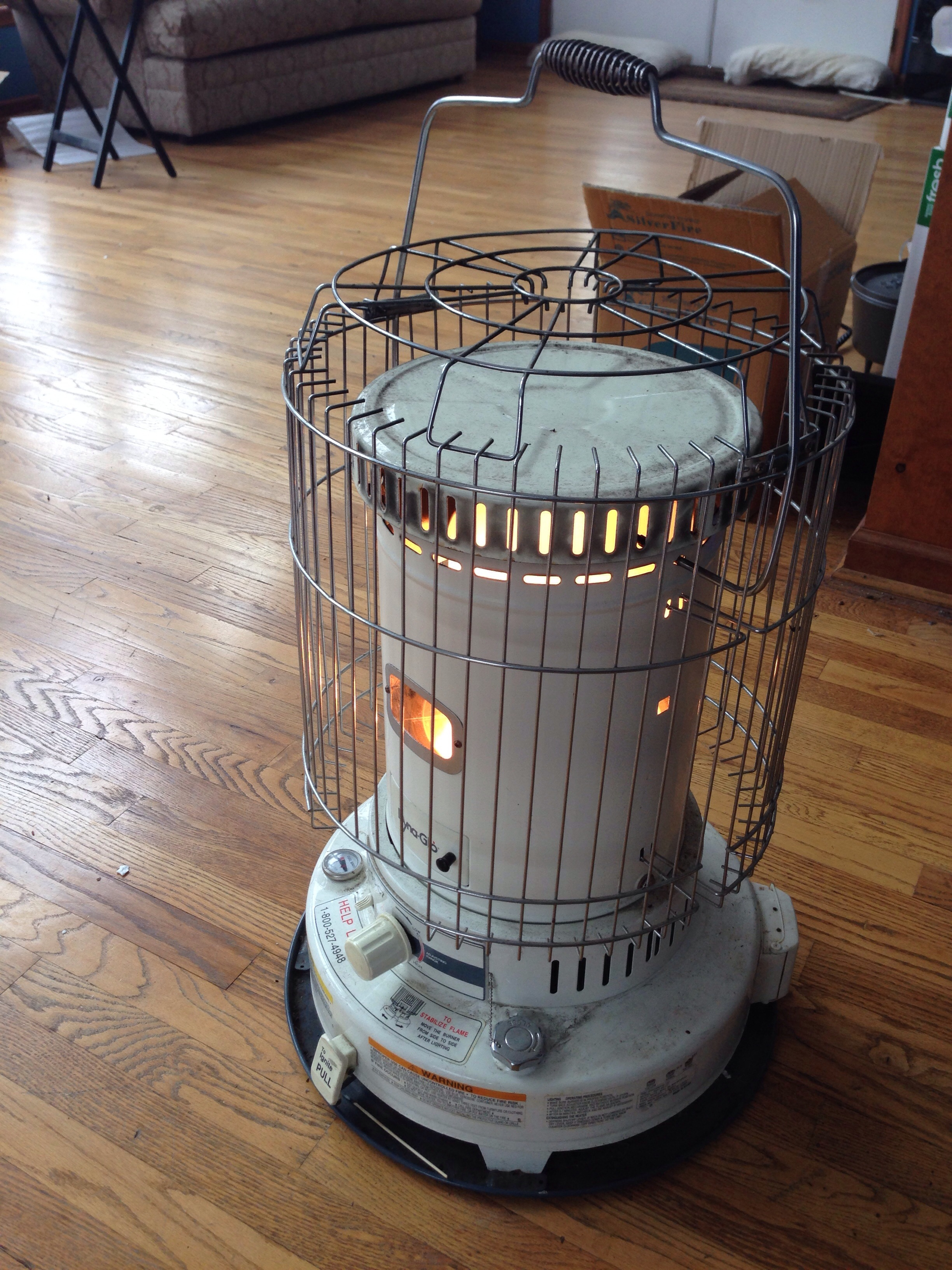 My Kerosene heater
